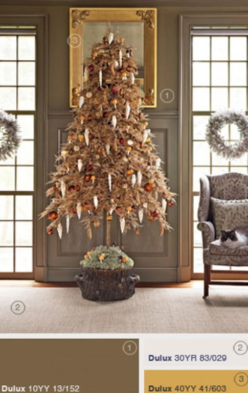 Những ý tưởng trang trí cây thông cho Noel