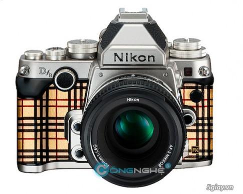"Nikon DfB-Phien ban Burberry ""bong bay"" va ""hoi dien"""
