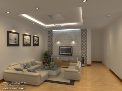 Nội thất trắng cho căn hộ chung cư