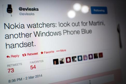 Nokia Martini se la chiec WP8.1 sap duoc ra mat