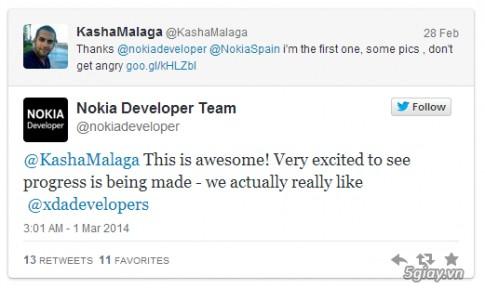 Nokia X da bi hack, chay ung dung Google va ca Google Play