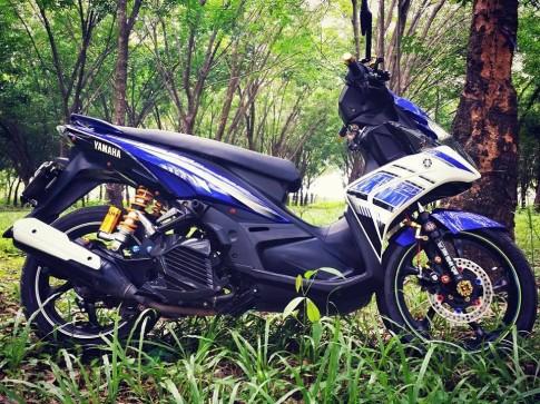 Nouvo GP độ chất chơi của một biker Đồng Nai