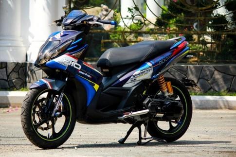 Nouvo SX Sơn tem đấu của biker Siêu Nhân Club