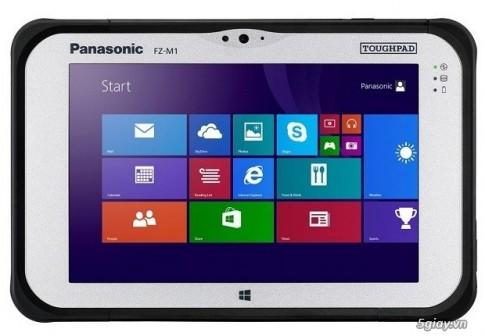 Panasonic trinh lang may tinh bang Toughpad FZ-M1 tai CES 2014