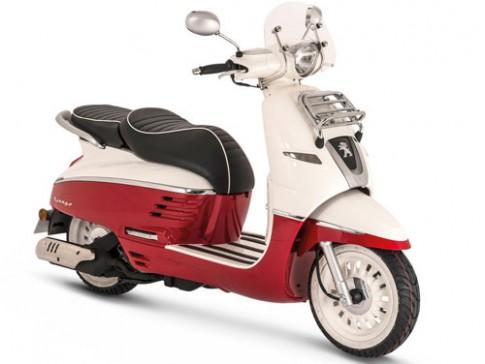 Peugeot Django - scooter moi xuat hien tai EICMA