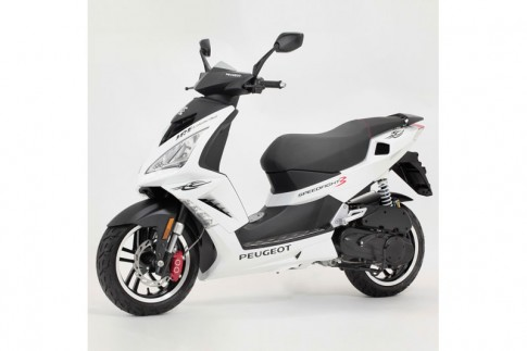 Peugeot ra mat xe tay ga the thao nham canh tranh voi Honda va Yamaha