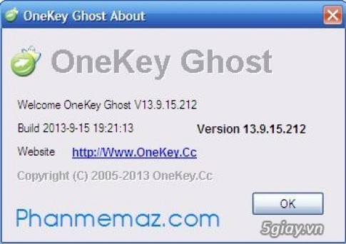 Phan mem Ghost may tinh Windows Xp/7/8/8.1 moi nhat 2014