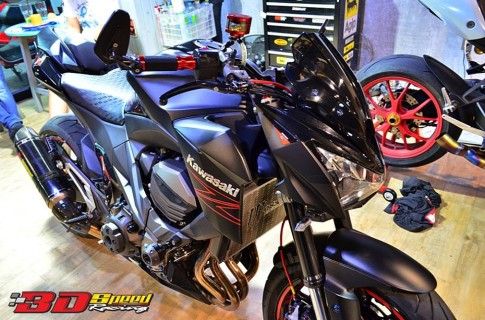 Phiên bản Kawasaki Z800 độ tuyệt đẹp đến từ Thái