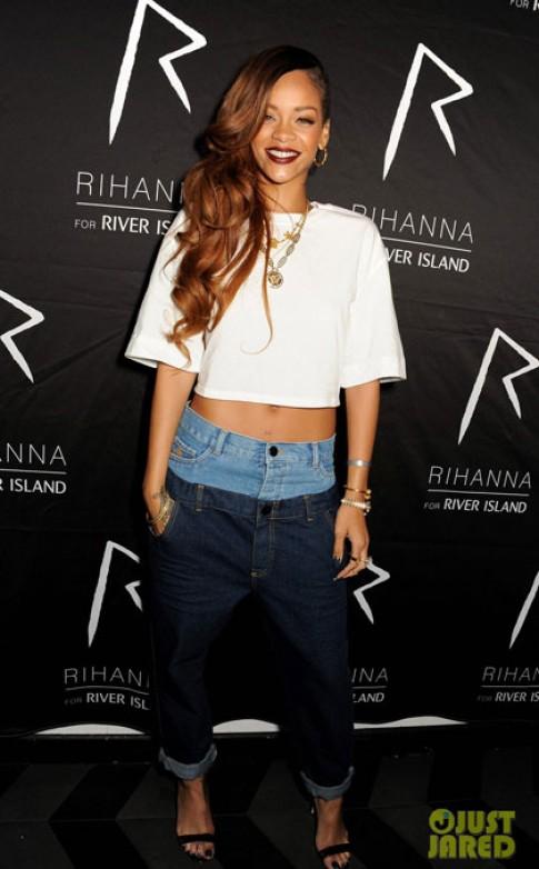 Phong cách cá tính của Rihanna (2)