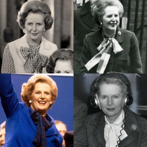 Phong cach thoi trang cua Margaret Thatcher