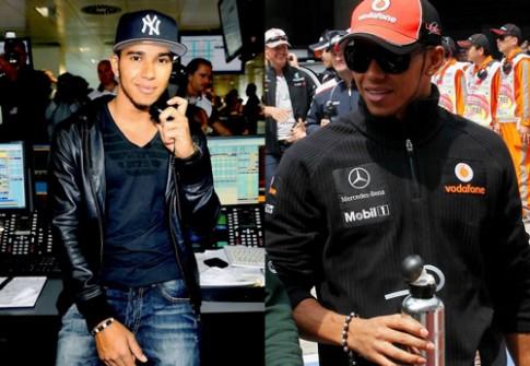 Phu kien xa xi cua Nicole Scherzinger va Lewis Hamilton
