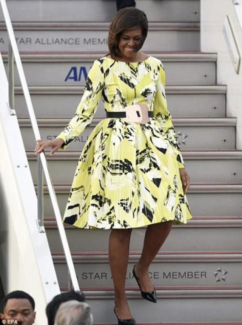 Phu nhan Michelle Obama vao top sao mac dep nhat tuan