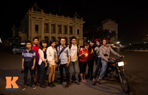 Phượt đêm tại Hà Nội