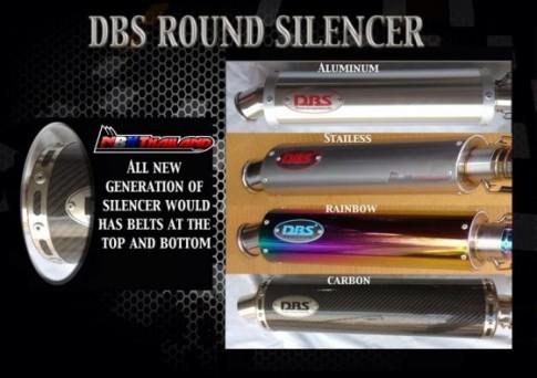 Pô DBS dành cho Raider150,Satria F150,Raider 125,FX