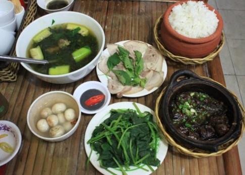Quan an mang huong vi bac giua Sai Gon