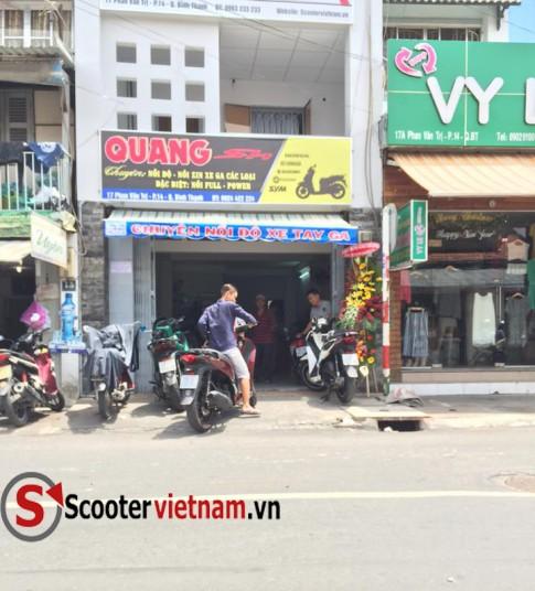 QuangSH: Dia Chi Lam Noi - Bao Duong Xe Tay Ga Uy Tin #1 TPHCM