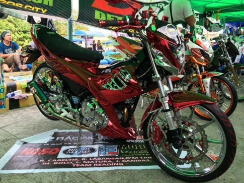 Raider 150 full option từ Racing Boy