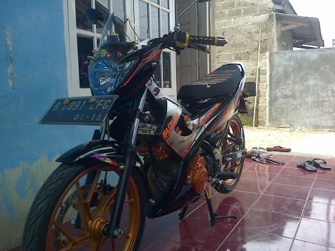 Raider 150 nhẹ nhàng của Indonesia