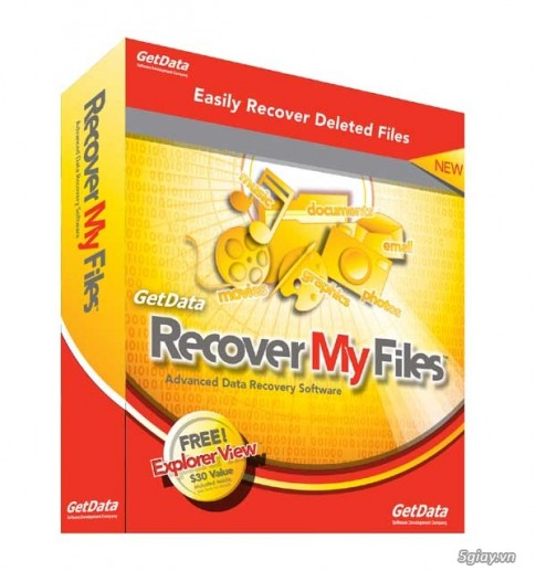 Recover My Files 5 Full Crack – Phan mem khoi phuc du lieu