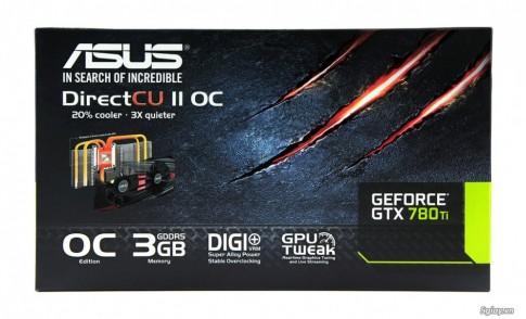 [Review] ASUS Geforce GTX780 Ti DirectCU II OC.