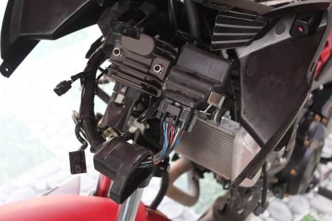 Review ECU SunWorld Racing cho Exciter 150 tu shop2banh.vn