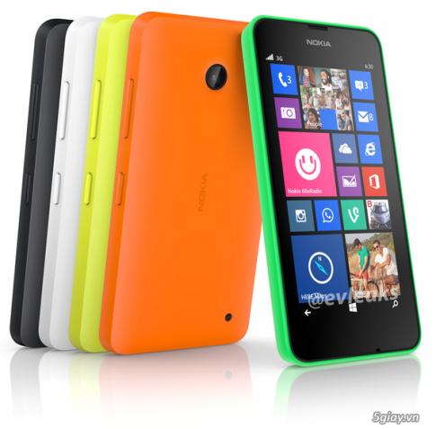 Ro ri anh moi ve Lumia 630, chiec WP8.1 chinh thuc dau tien