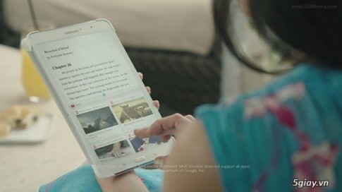 "Samsung lai tung clip ""dim hang"" iPad, Surface va Kindle"
