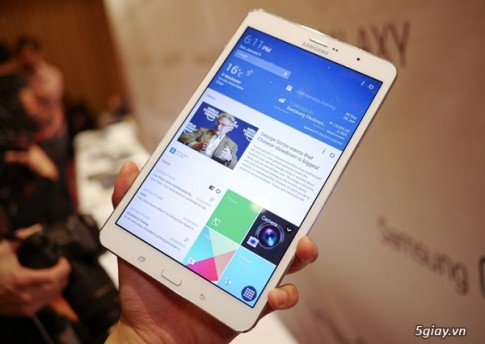 Samsung sap ra tablet dung chip loi 8, man hinh 2K