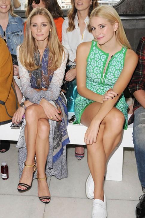 Sao Hollywood muon ve o ghe dau London Fashion Week