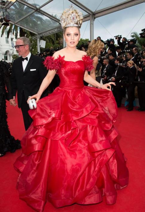 Sao mặc xấu trên thảm đỏ Cannes 2014