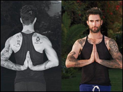 Sao nam Hollywood duy trì cơ thể săn chắc nhờ yoga