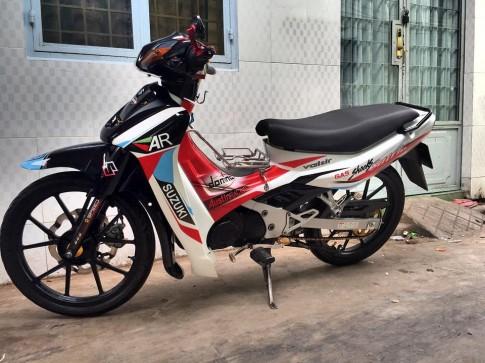 Satria 2000 độ phong cách hàng hiệu của dân chơi Việt
