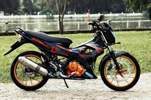 Satria F phiên bản 1 triệu độ cực đẹp của biker