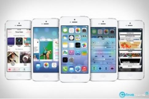 Say xe, nhức đầu vì ngồi nhà sử dụng iOS 7?
