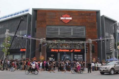 Showroom Harley-Davidson Hà Nội chính thức khai trương