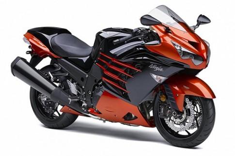 Sieu moto Kawasaki ZX-14R 2014 ra mat