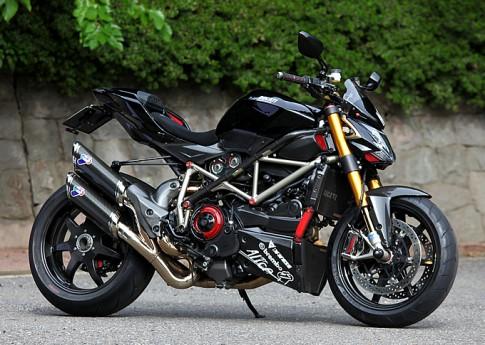 Sieu pham Ducati Streetfighter S den tu Nhat Ban