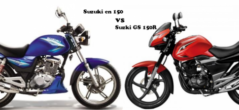 So sang Suzuki GS 150R va Suzuki EN 150A