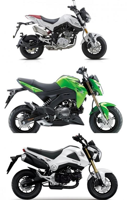 So sanh Benelli Tornado Naked T, Honda MSX 125 va Kawasaki Z125