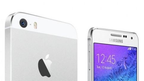 So sanh Galaxy Alpha vs iPhone 5S