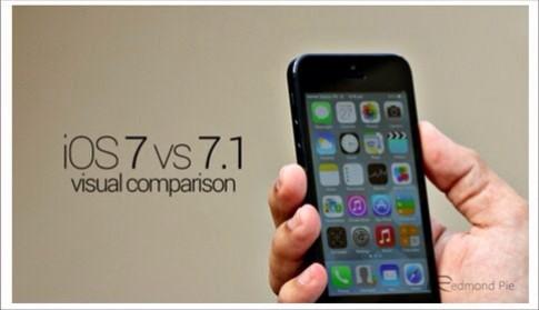 So sanh iOS 7.1 va iOS 7.0 bang hinh anh