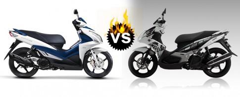 So sanh Suzuki Impulse va Yamaha Nouvo SX