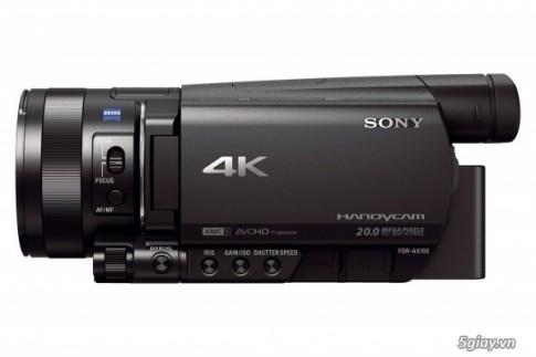 Sony Ra Mat May Quay Tieu Dung 4K Moi