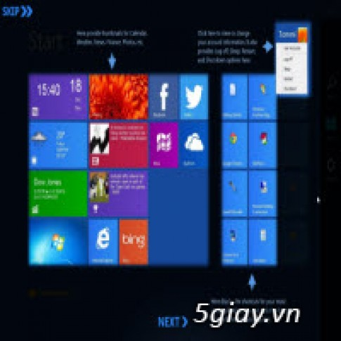 Su dung Modern UI tren Windows 7, Vista