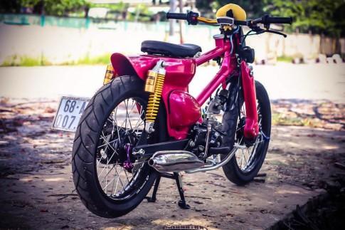 Super cub 50cc trang trí đồ chơi độc đáo