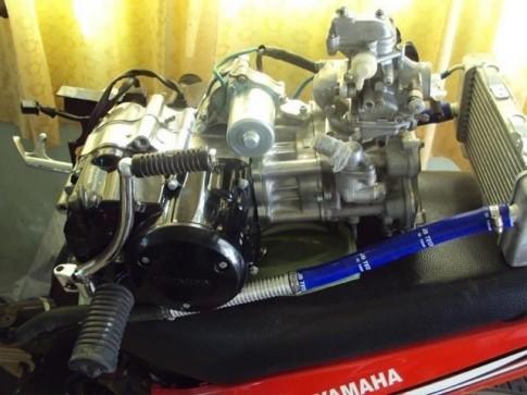 Super Dream do Yamaha bang cach len dau long Exciter 135cc