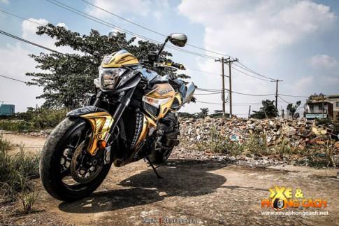 Suzuki B-King do cuc dep voi phien ban Transformer