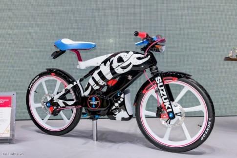 Suzuki Feel Free Go mẫu xe có thiết kế độc đáo như xe đạp