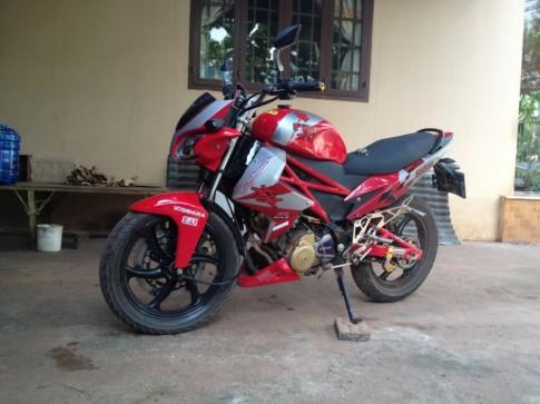 Suzuki FX do khong tuong voi phong cach mo to PKL