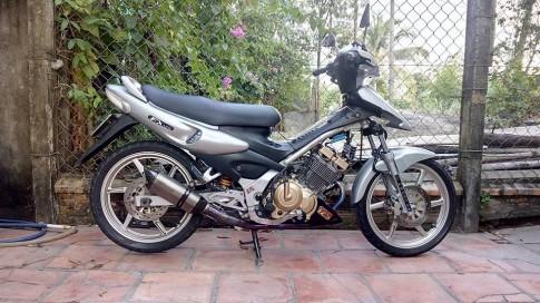 Suzuki FX125 sạch đẹp với dàn chân mới
